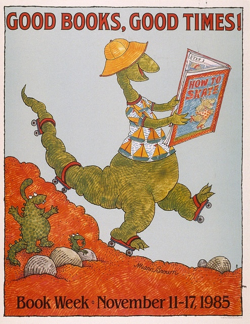 Children's Book Week poster 1985 - art by Marc Brown