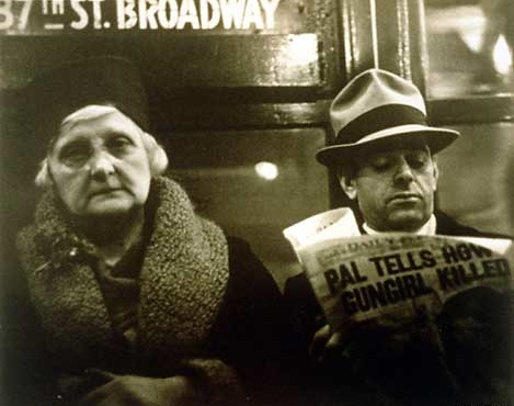 Walker Evans Subway