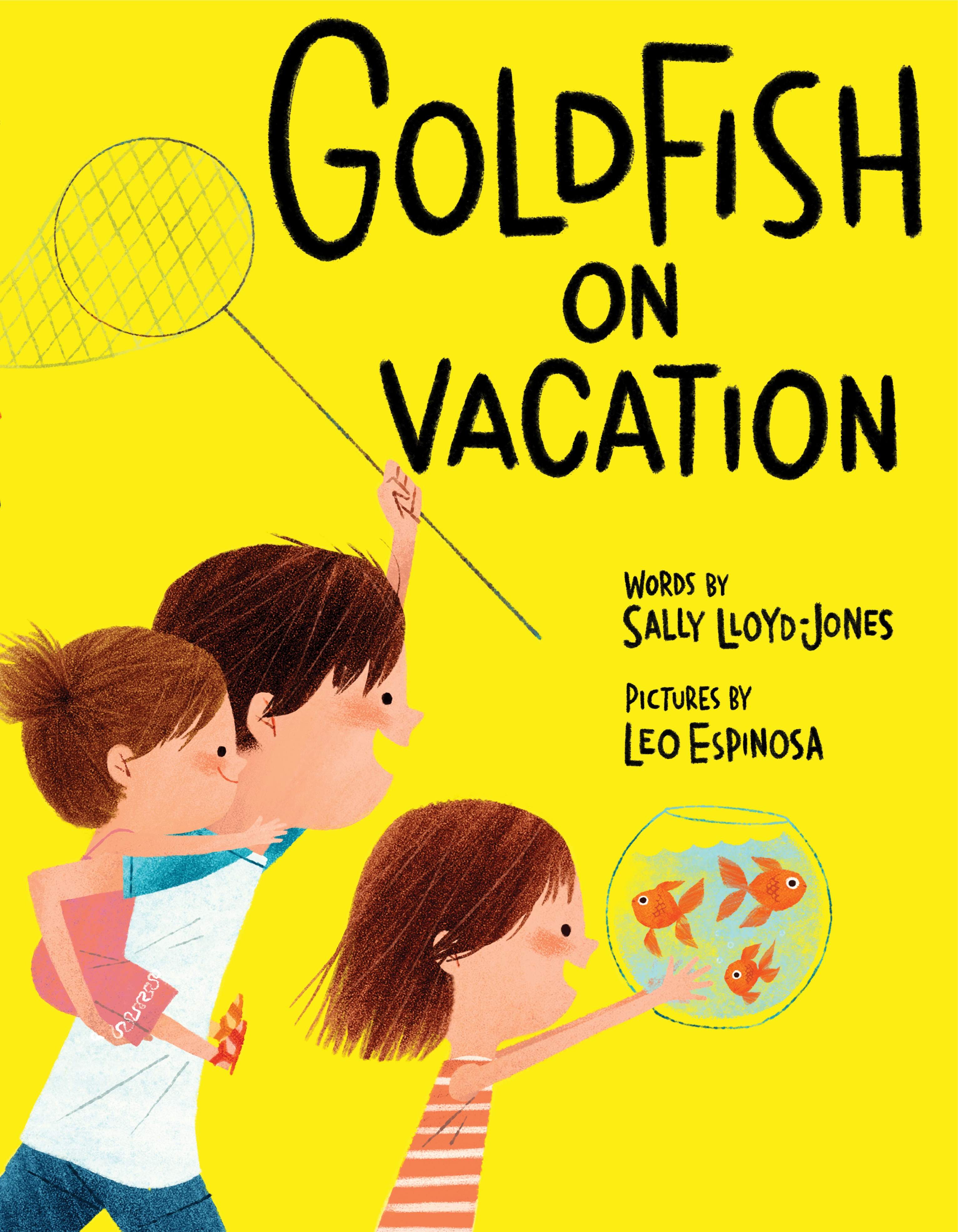Goldfish on Vacation cover